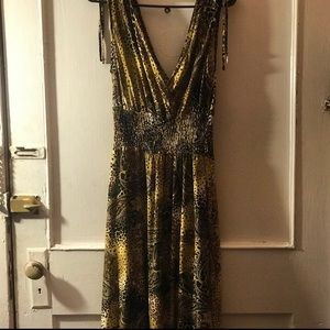 Fun flirty sleeveless dress